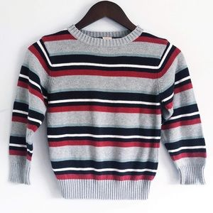 Youth Boys Striped Sweater